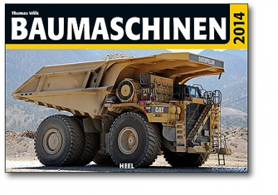 Kalender CAT Baumaschinen 2014
