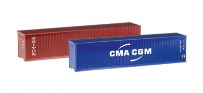 Container-Set 2x40 ft. 1:87