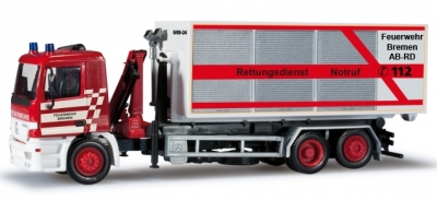 MB Actros M Abrollcontainer-LKW 1:87