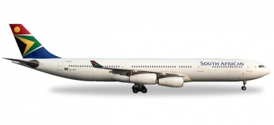 A340-300 South African Airways; 1:500