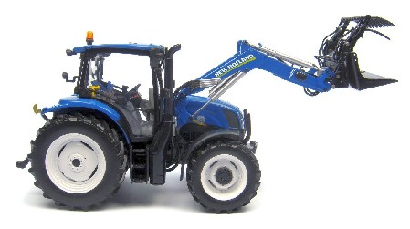 New Holland T6.140 with front loader ; 1