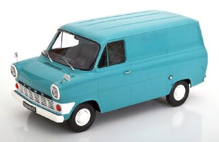 Ford Transit MK1 Kasten 1965 hblau 1:18