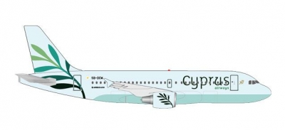 A319 Cyprus Airways, 5B-DCW; 1:500