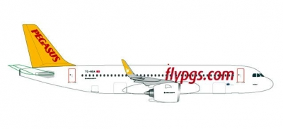 A320neo Pegasus Airlines; 1:500