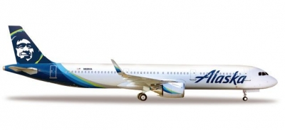 A321neo Alaska Airlines; 1:500