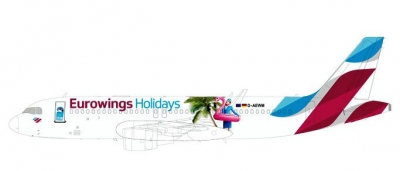 A320 Eurowings ``Holidays``; 1:200