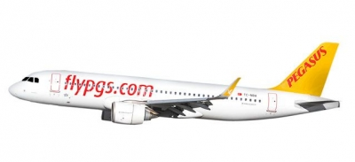 A320neo Pegasus Airlines; 1:200