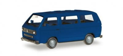 MiKi VW T3 Bus, ultramarinblau; 1:87