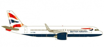 A320neo British Airways; 1:500