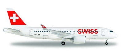 A220-100 Swiss Int. Air Lines; 1:200