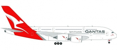 A380 Qantas, new colors,VH-OQF; 1:200