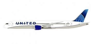 B787-9 United Airlines; 1:200