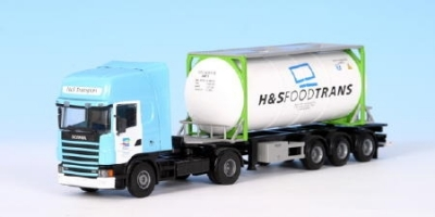 Scania Topline 2achs Tankcontainer 1:50