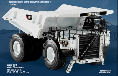 Cat 797F Mining Truck in white colour;1/