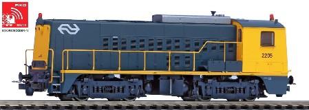 ~XP-Diesellok Rh 2200 NS gelb-grau IV +