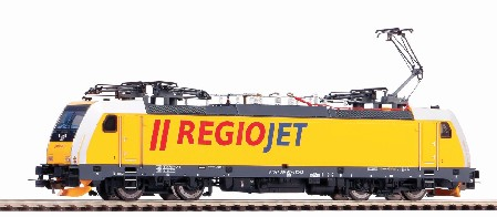 E-Lok BR 386 Regiojet VI + DSS 8pol.