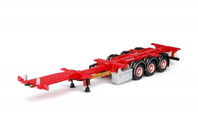 T.B. Flextrailer Chassis rot  1:50