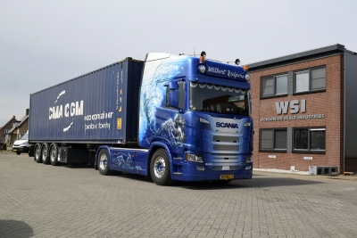 Scania R HL CR20H Containersattelzug1:50