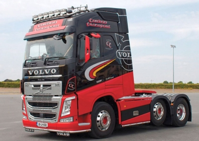 VOLVO FH4 GLOBETROTTER 6X2 TWIN STE 1:50