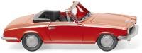 BMW 1600 GT Cabrio - rot     ; 1:87