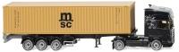 Containersattelzug  Scania R ; 1:87