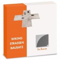 Strassen-Bausatz - Kurve 1:87