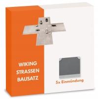 Strassen-Bausatz - Einmündung 1:87