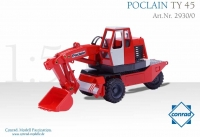 POCLAIN TY 45 Mobilbagger     1:50