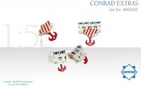 CONRAD-EXTRA Hakenflaschensystem  1:50