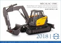 Mecalac 15MC Raupenbagger mit Tragarm 1:
