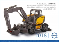 Mecaloc 15MWR Mobilbagger mit Trag 1:50