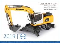 LIEBHERR A 920 Mobilbagger 1:50