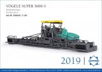 VÖGELE SUPER 3000-3 Straßenfertiger 1:50
