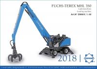 Fuchs-Terex MHL 350 Lademaschine 1:50