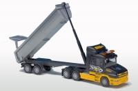 Scania Hauber 6x4/2a. Kippauflieger 1:25