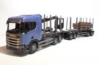 Scania CR500 6x4 Holzhängerzug 1:25