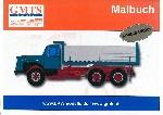 GMTS Lastwagen Malbuch