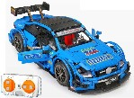 Sportwagen C63 R/C  hellblau  ca. 1:10