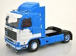 Scania 143 Streamline 1995 blau/wei 1:18