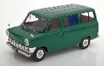 Ford Transit MK1 Bus 1965 dunkelgrü 1:18