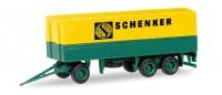MiKi Hänger 3-achs ``Schenker``; 1:87