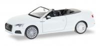 Audi A5 Cabrio, ibisweiß; 1:87