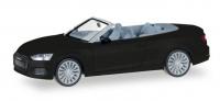 Audi A5 Cabrio, schwarz met.; 1:87
