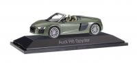 Audi R8 Spyder 1:43, met. grün; 1:87
