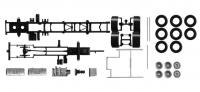 LKW-Fahrgestell Volvo FH 3-achs 1:87