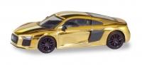 Audi R8, gold glänzend; 1:87
