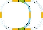G-Gleis-Set Überholgleis
