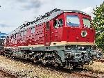 ~Diesellok BR 132 063-9 DR IV + Dec.