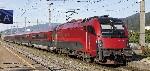 Zugset Railjet Rh1216 + 3 Wagen ÖBB V