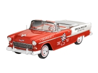 55 Chevy Indy Pace Car - Modell Set 1:25